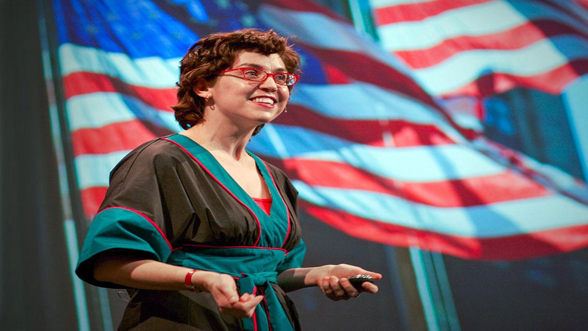 سخنرانی تد : اِرین مککین لغتنامه را بازتعریف میکند