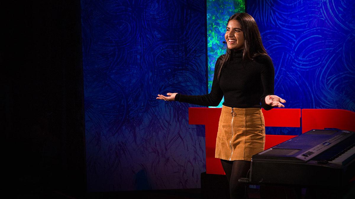 سخنرانی تد : سندروم توره چگونه است — و چطور با موسیقی کنترل خود را باز مییابم