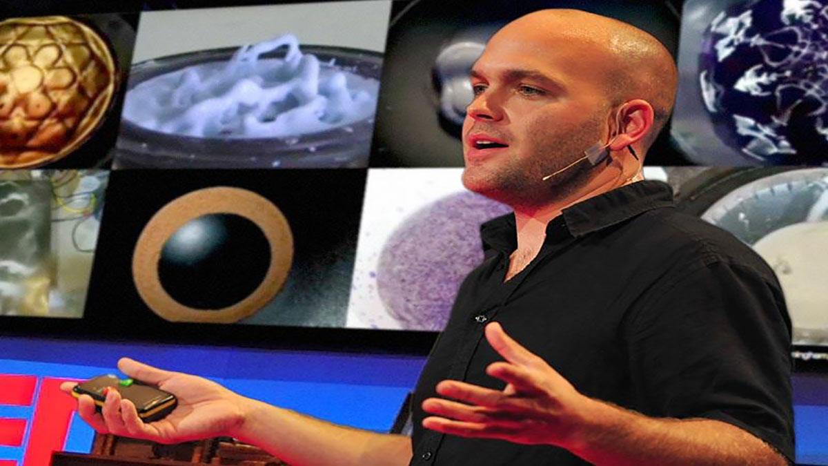 سخنرانی تد : ایوان گرنت: نمایش بصری صدا به وسیله صدانمایی یا سایمتیک