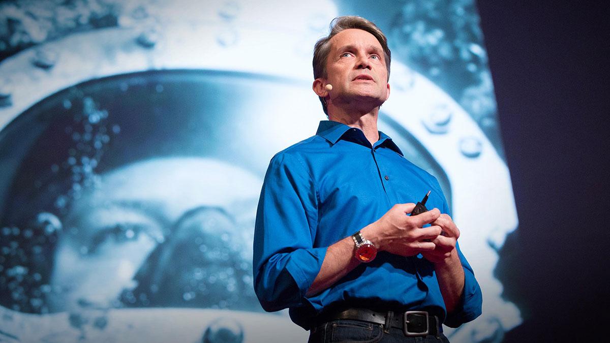 سخنرانی تد : چیزهایی که از ۳۱ روز زندگی زیرآب آموختم
