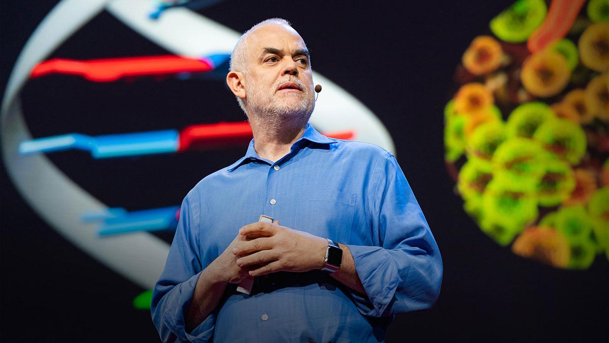 سخنرانی تد : احتمالات ریشهای DNA ساخت انسان