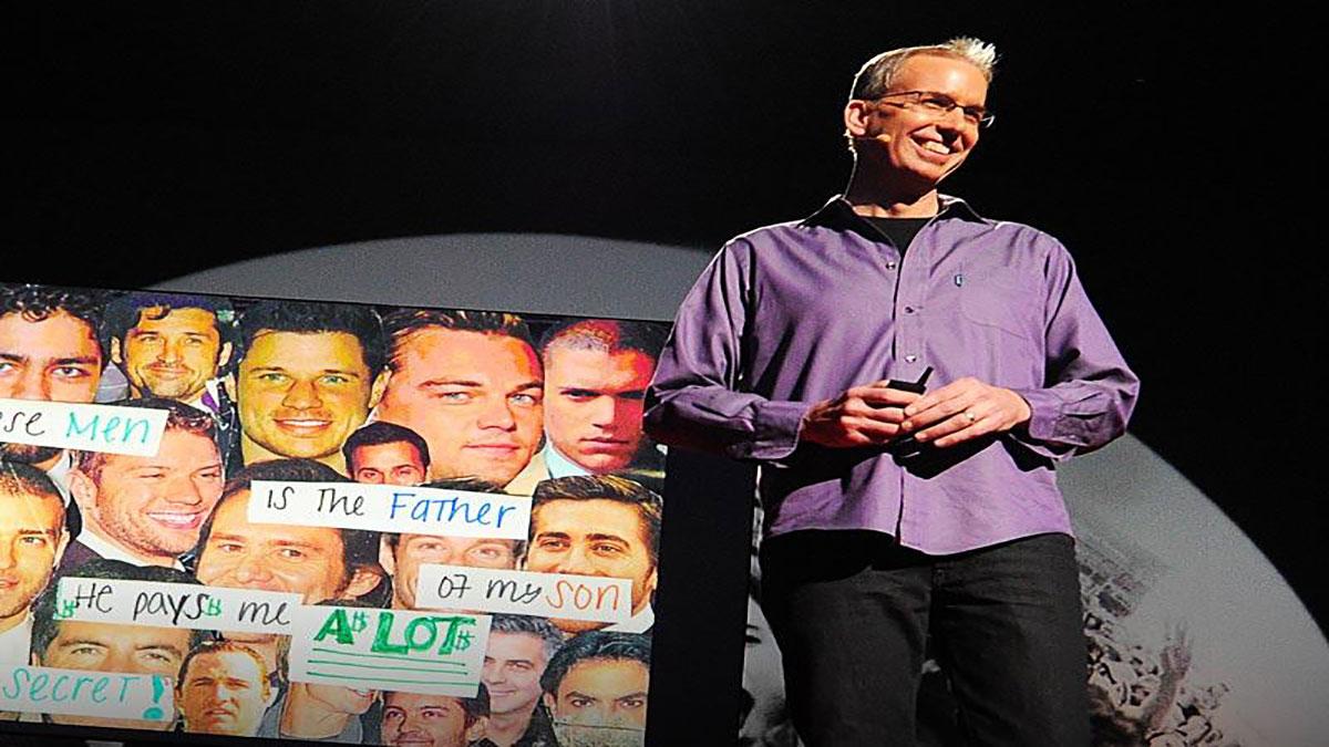 سخنرانی تد : فرنک وارن: نیم میلیون راز