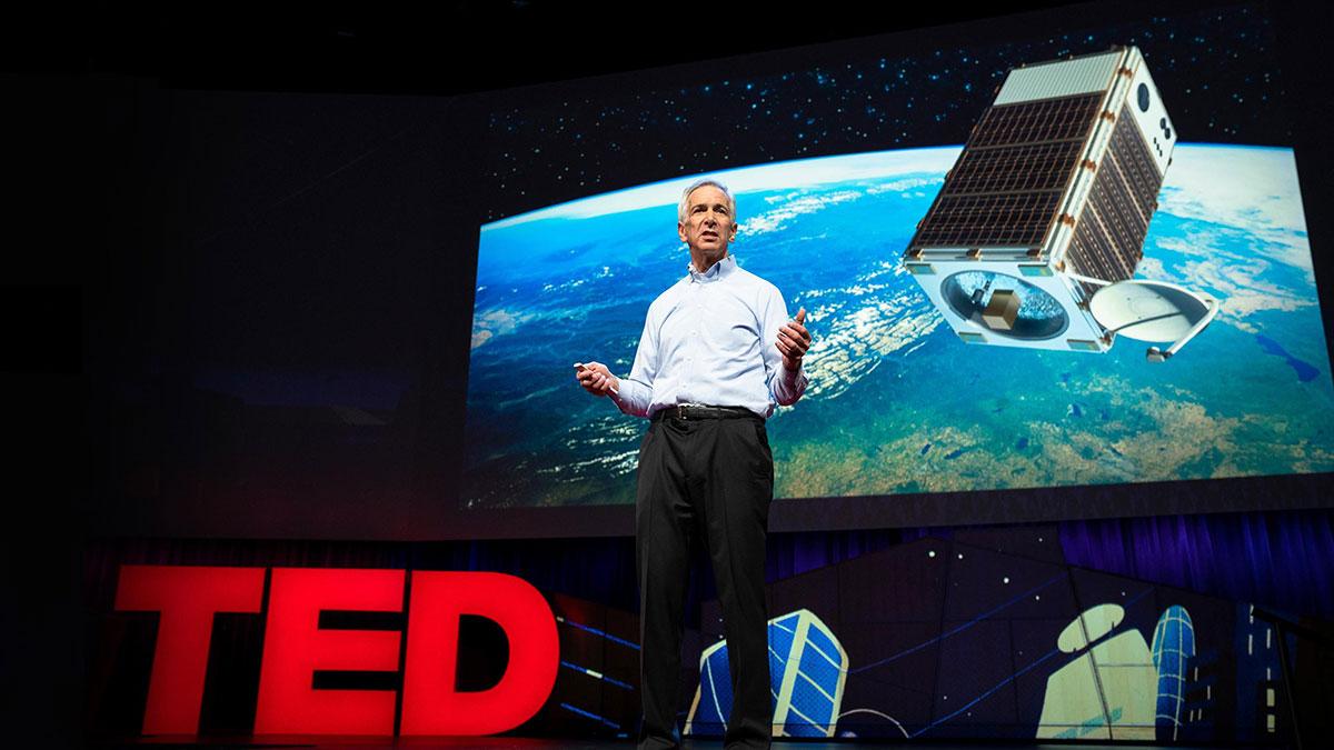 سخنرانی تد : بیایید ماهوارهای پرتاب کنیم تا یکی از گازهای گلخانهای تهدیدکننده را ردیابی کنیم