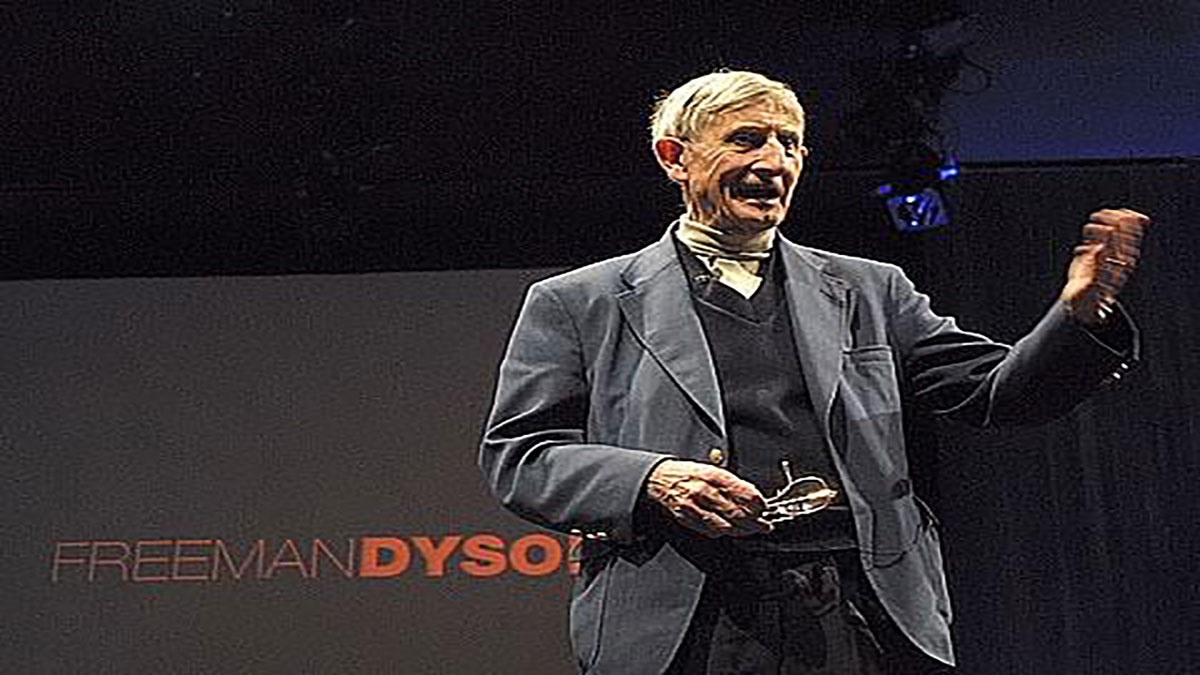 سخنرانی تد : فریمن دیسون میگوید: بیایید در فضای بیرونی منظومه شمسی به دنبال زندگی و حیات بگردیم.