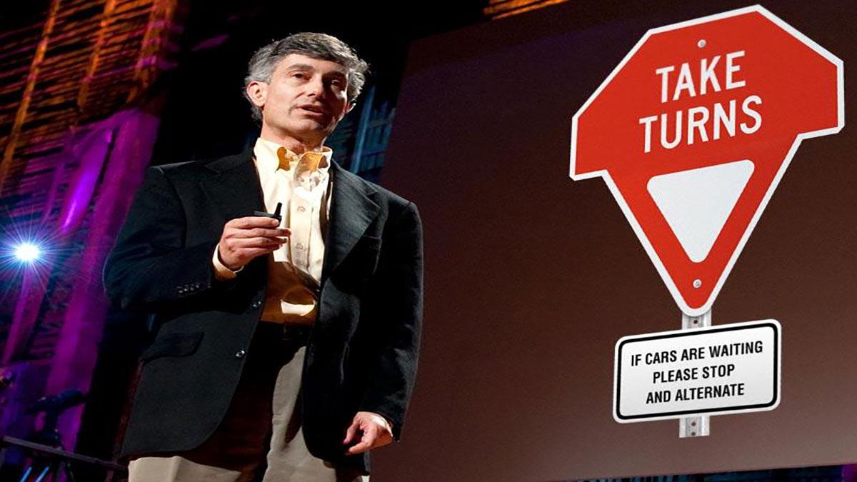 سخنرانی تد : تابلوی رانندگی جدید گری لادر: نوبتی برید