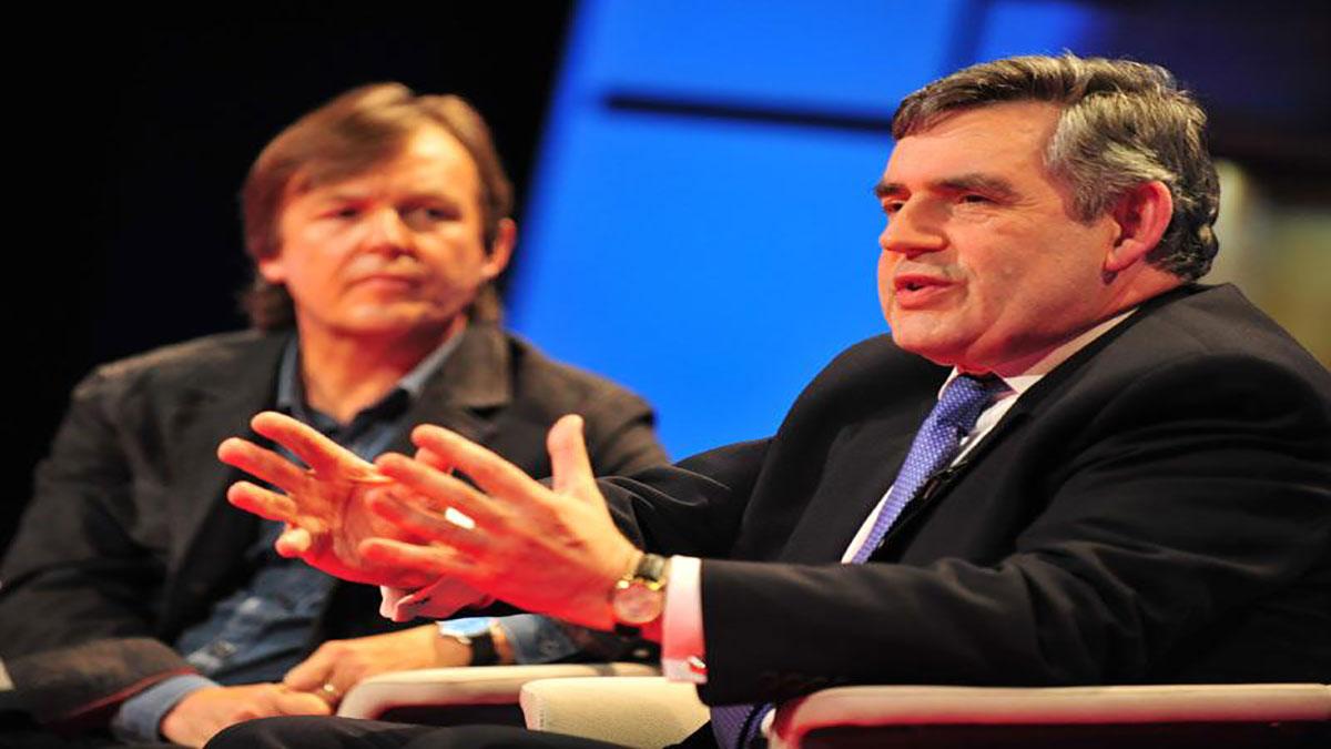 سخنرانی تد : گوردون براون در اخلاق جهانی در مقابل منافع ملی