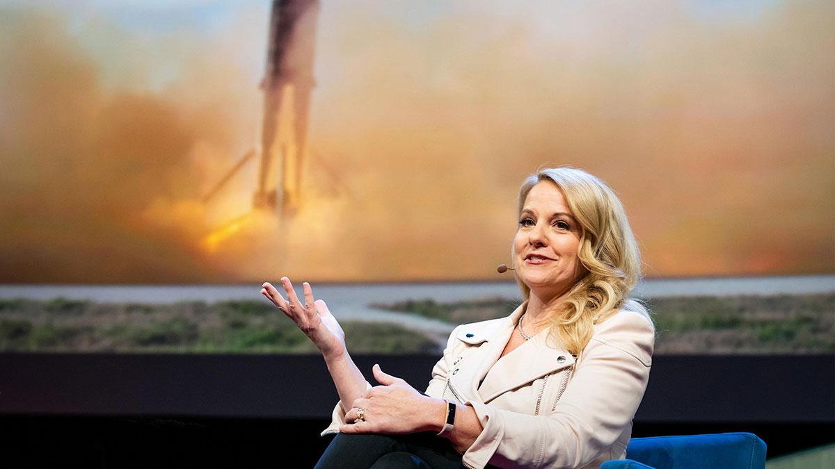 سخنرانی تد : برنامه اسپیساکس برای پرواز شما به هرنقطه از جهان در ۳۰ دقیقه