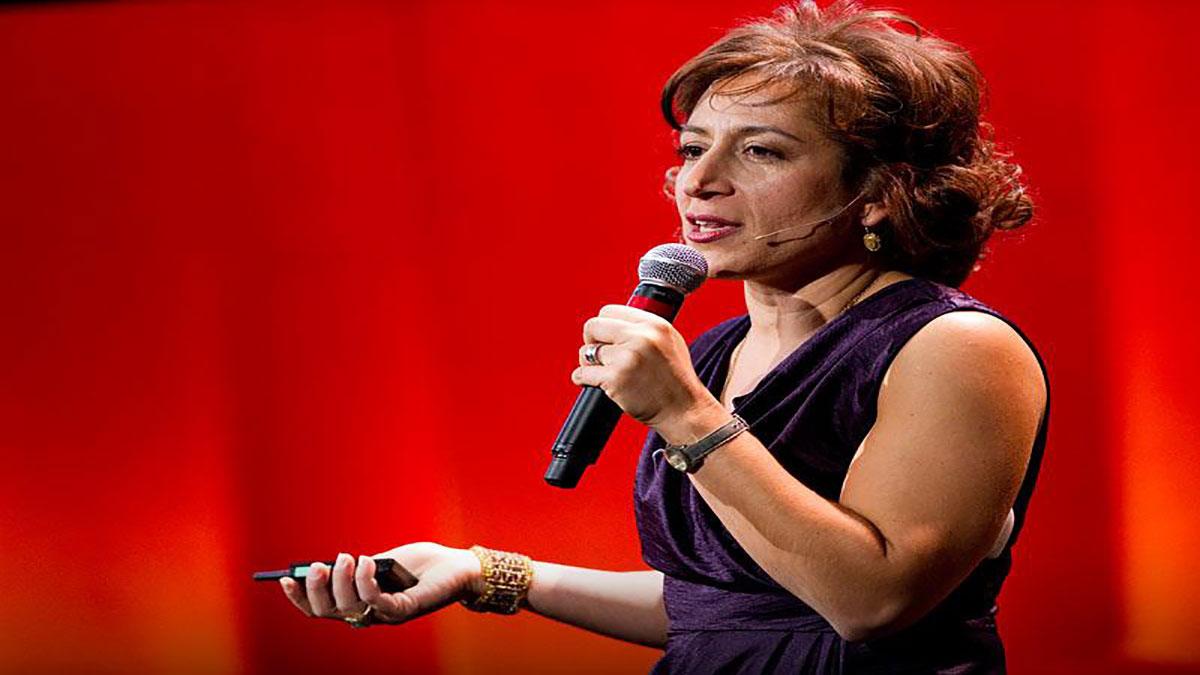سخنرانی تد : هانا روزین: اطلاعات جدید در مورد ترقی زنان