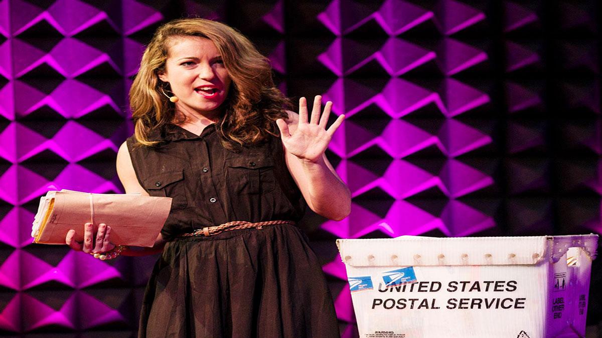 سخنرانی تد : هانا برنچر: نامههای محبتآمیز به غریبهها