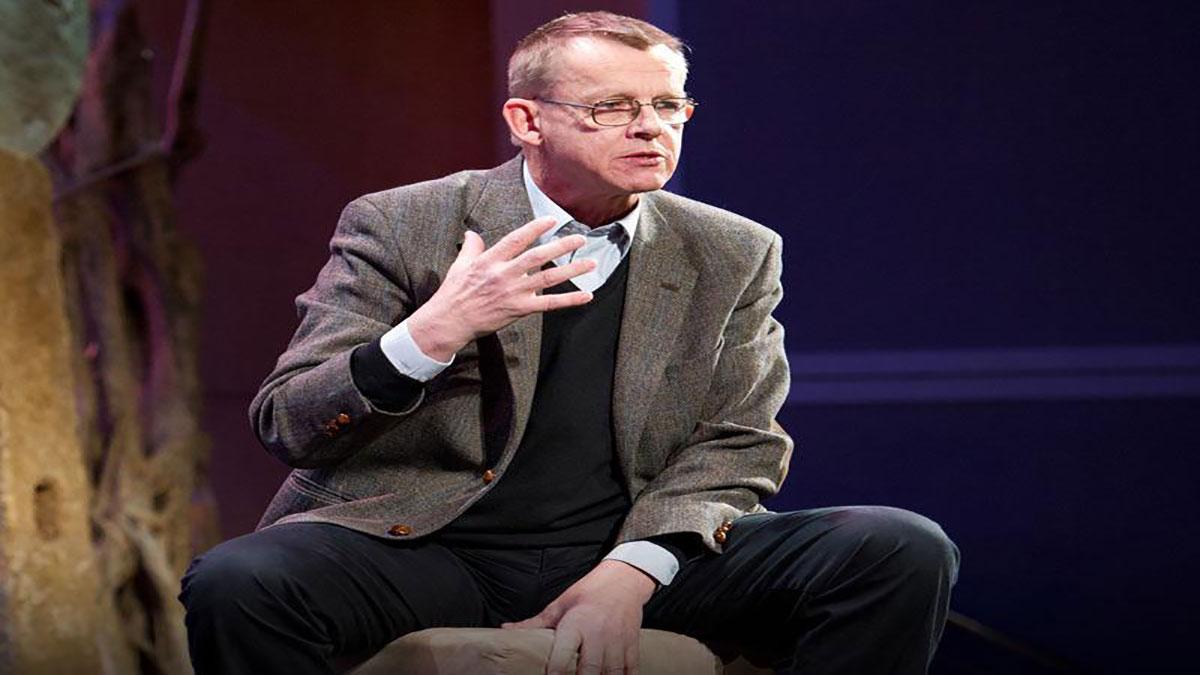 سخنرانی تد : هانس روزلینگ  و جادوی ماشین لباسشویی