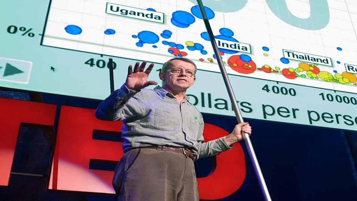 سخنرانی تد : هنس روسلینگ از HIVسخن میگوید:حقایق جدید وحیرت آور وبصری از ایدز