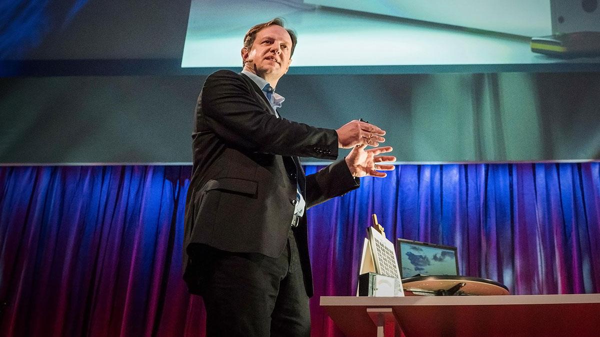 سخنرانی تد : دستیابی به موفقیت جدیدی برای اینترنت بیسیم