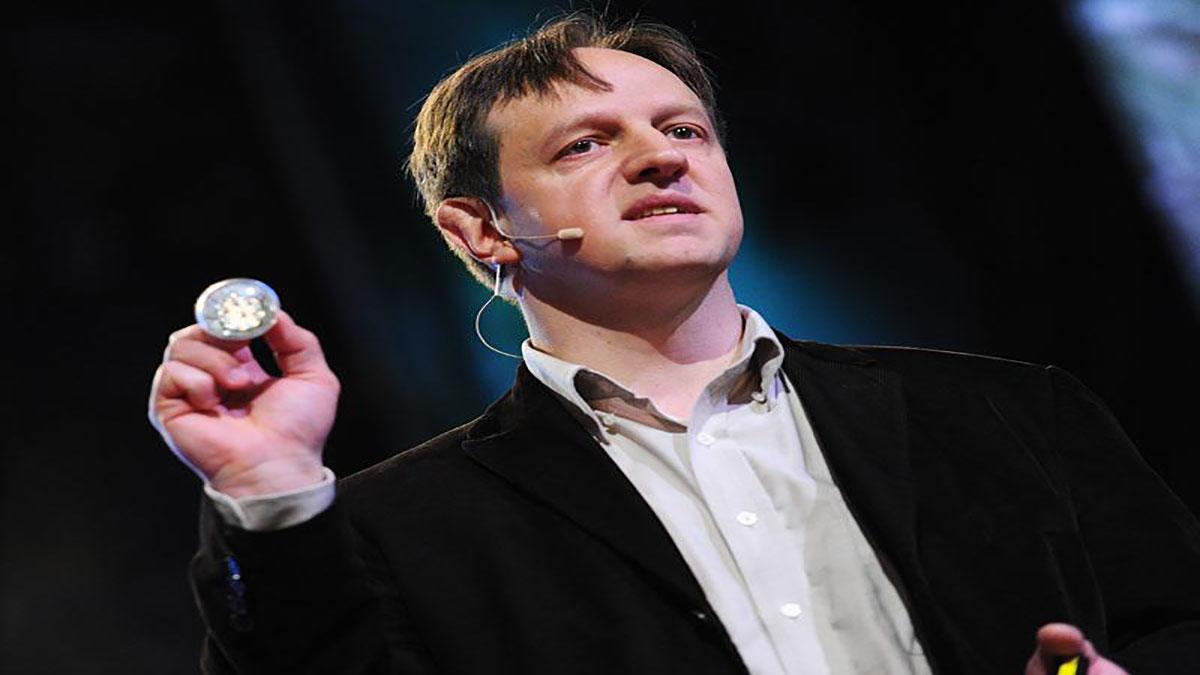 سخنرانی تد : هارالد هاس: اطلاعات بی سیم از طریق لامپ های روشنایی