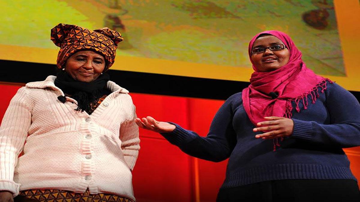 سخنرانی تد : مادر و دختر، دو پزشک قهرمان: حوا عبدی و دیگو محمد