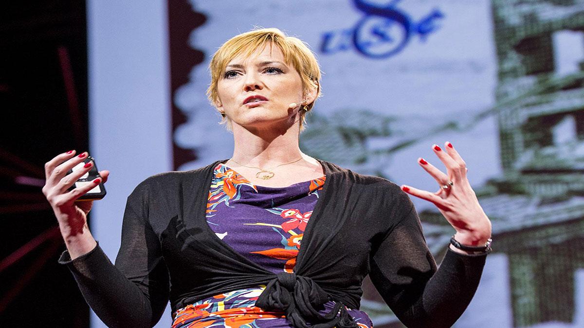 سخنرانی تد : هِدر بروک: نبرد من برای نشان دادن فساد دولتی