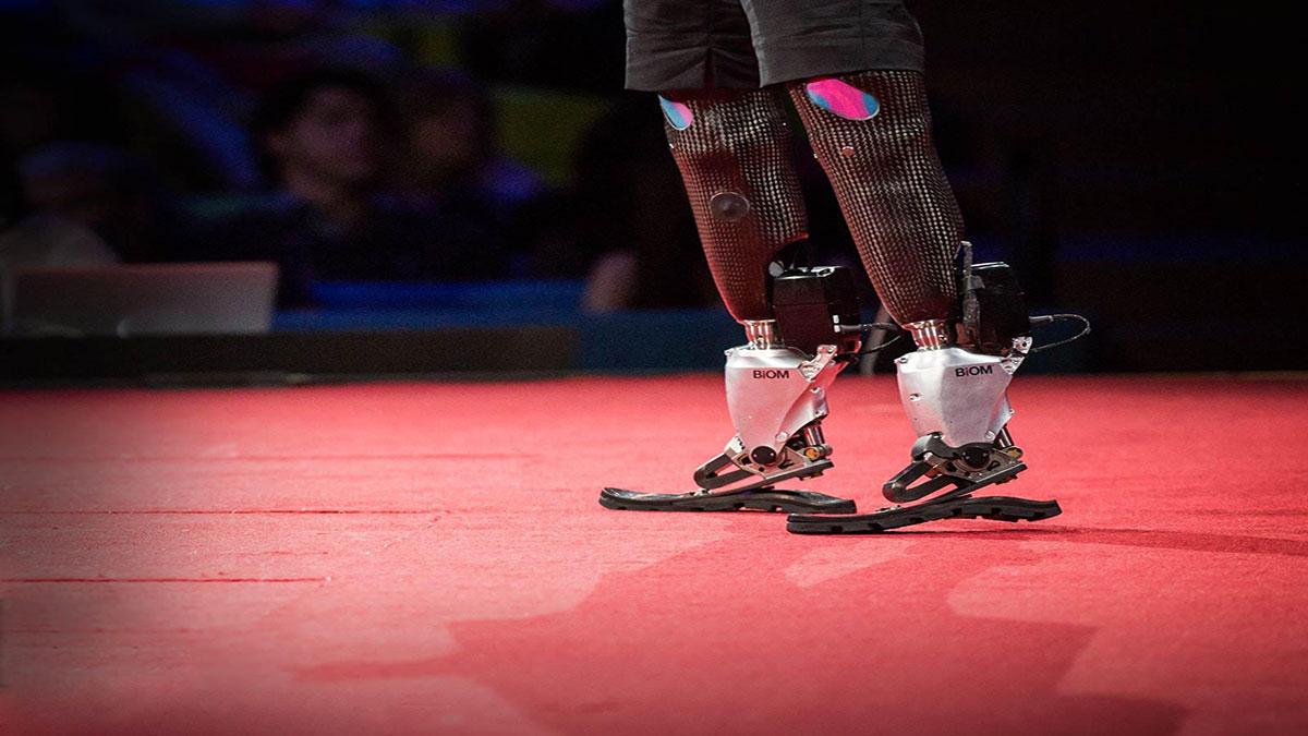 سخنرانی تد : اندام مصنوعی که به ما اجازه می دهد بدویم، صعود کنیم و برقصیم