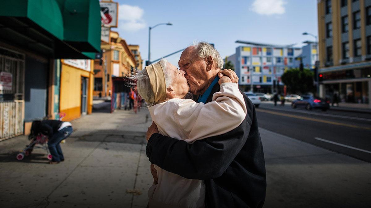 سخنرانی تد : عکسهایی صمیمانه از یک مثلث عشقی سالخورده