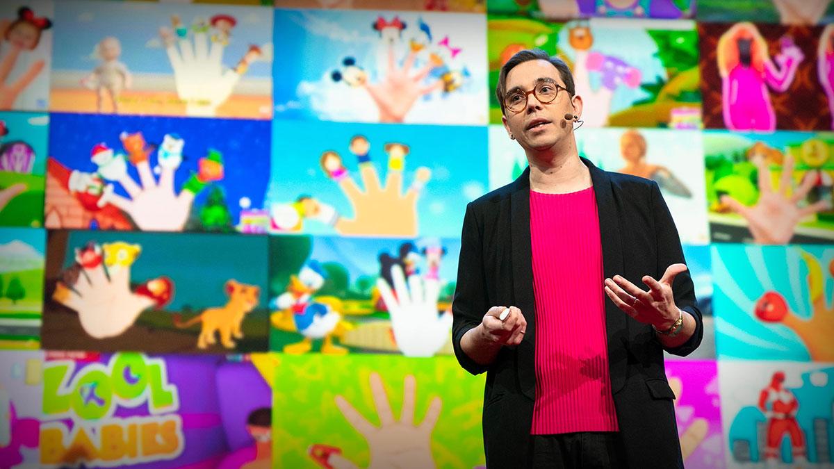 سخنرانی تد : ویدیوهای کابوسوار یوتیوب برای کودکان — و دردسرهای امروزه اینترنت