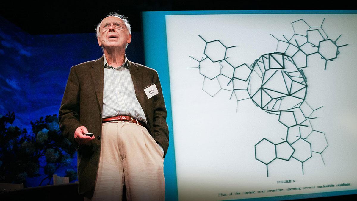 سخنرانی تد : جیمز واتسون و داستان کشف ساختار DNA
