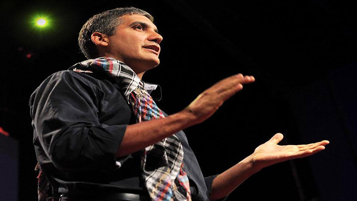 سخنرانی تد : جميل ابو ورده : تور کمدی خاورميانه اي محور شرارت