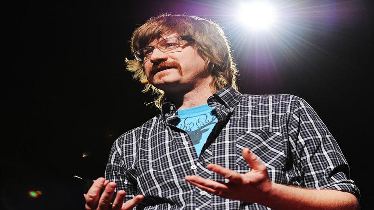 سخنرانی تد : جارد فیکلین : راه های جدید برای دیدن موسیقی (با رنگ و آتش!)