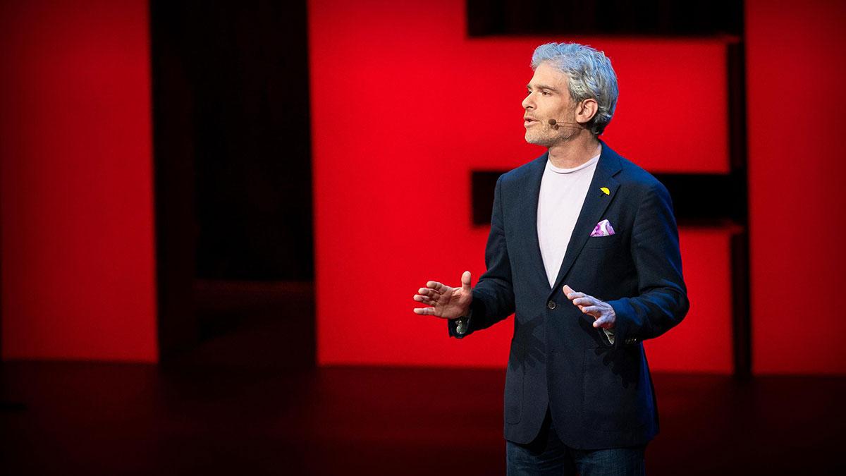 سخنرانی تد : سفری از میان مرگ و سوگواری