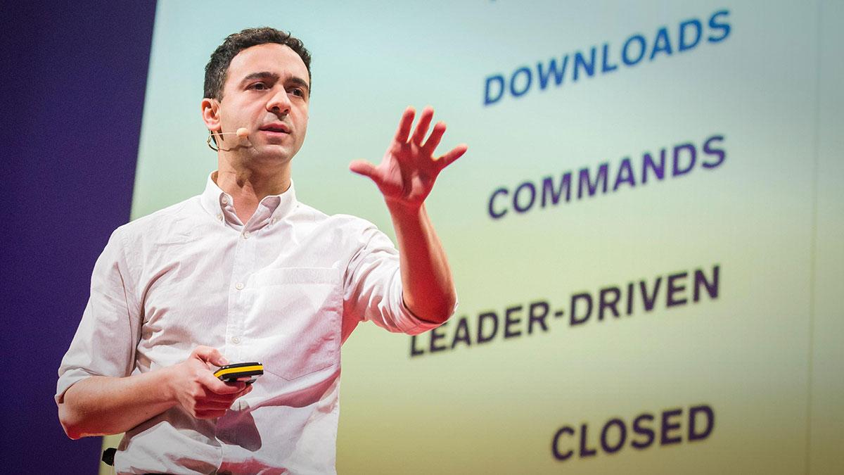 سخنرانی تد : قدرت نو چگونه است