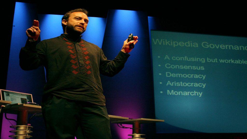 سخنرانی تد : جیمی ویلز درباره تولد ویکیپدیا
