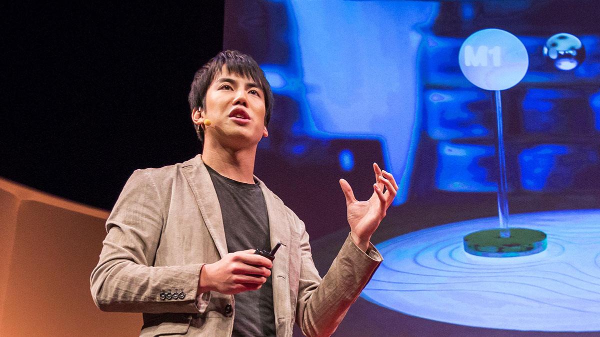 سخنرانی تد : ورود به درون کامپیوتر و برداشتن یک پیکسل