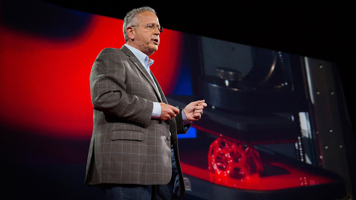 سخنرانی تد : اگر چاپگر سه بعدی ۱۰۰ برابر سریعتر بود چه؟