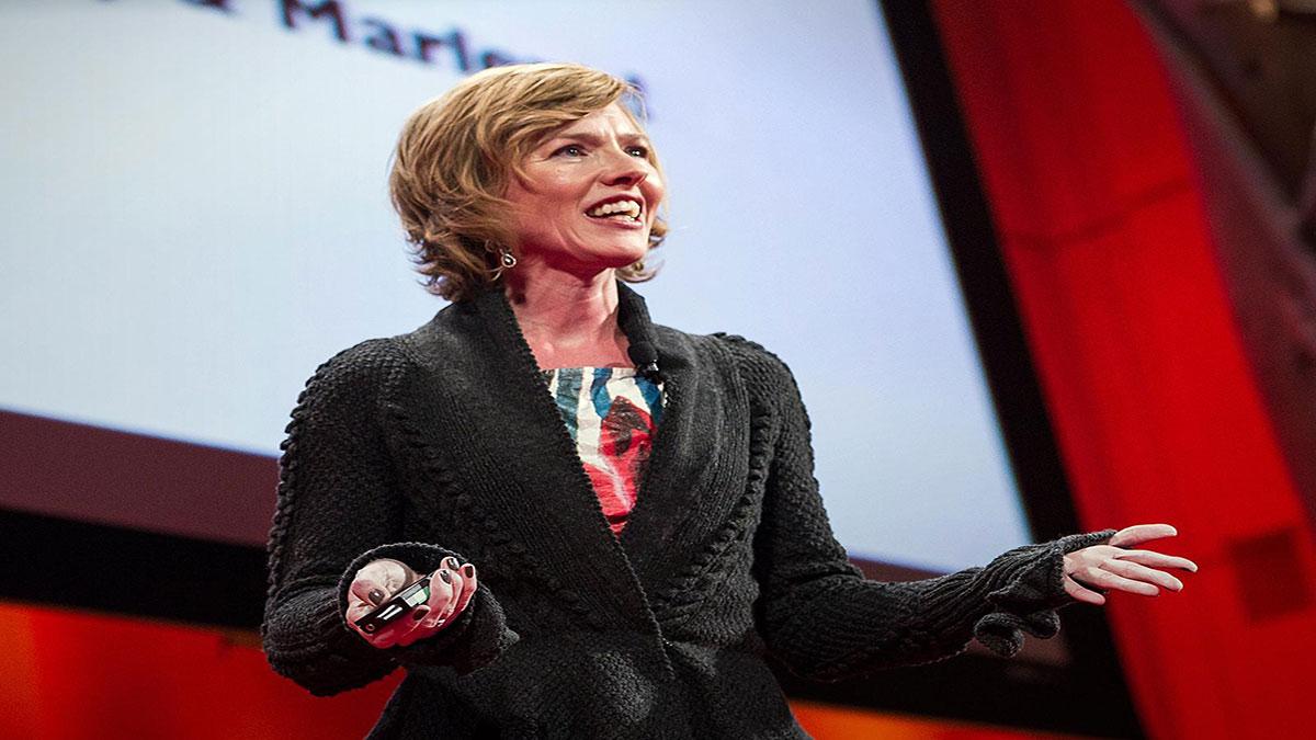 سخنرانی تد : جوانا بلکلی: رسانه های جمعی و پایان جنسیت