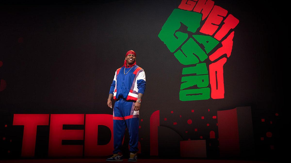سخنرانی تد : رویداد بزرگ دیگری که از برانکس سر برآورده است، دوباره