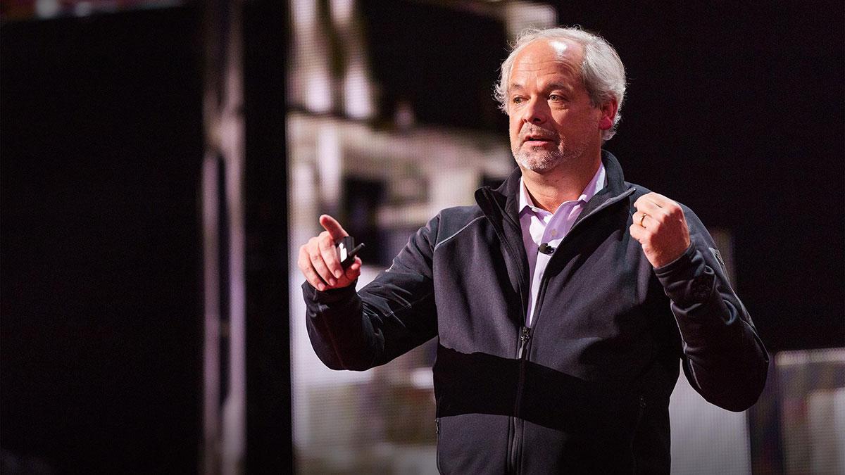 سخنرانی تد : ما میتوانیم حیات را تغییر دهیم، چگونه خردمندانه عمل کنیم