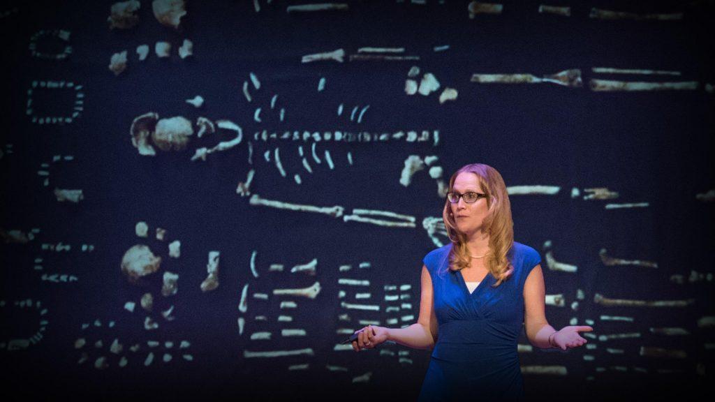 سخنرانی تد : چطور گونهٔ جدیدی از اجداد در حال تغییر دادن نظریه تکامل انسان است