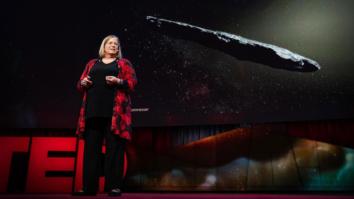 سخنرانی تد : داستان اومواموا، اولین مسافر از ستارهای دیگر