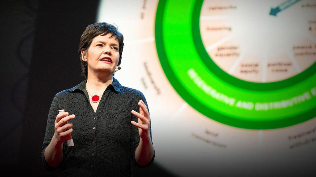 سخنرانی تد : یک اقتصاد سالم باید در جهت شکوفایی طراحی شود، نه  رشد