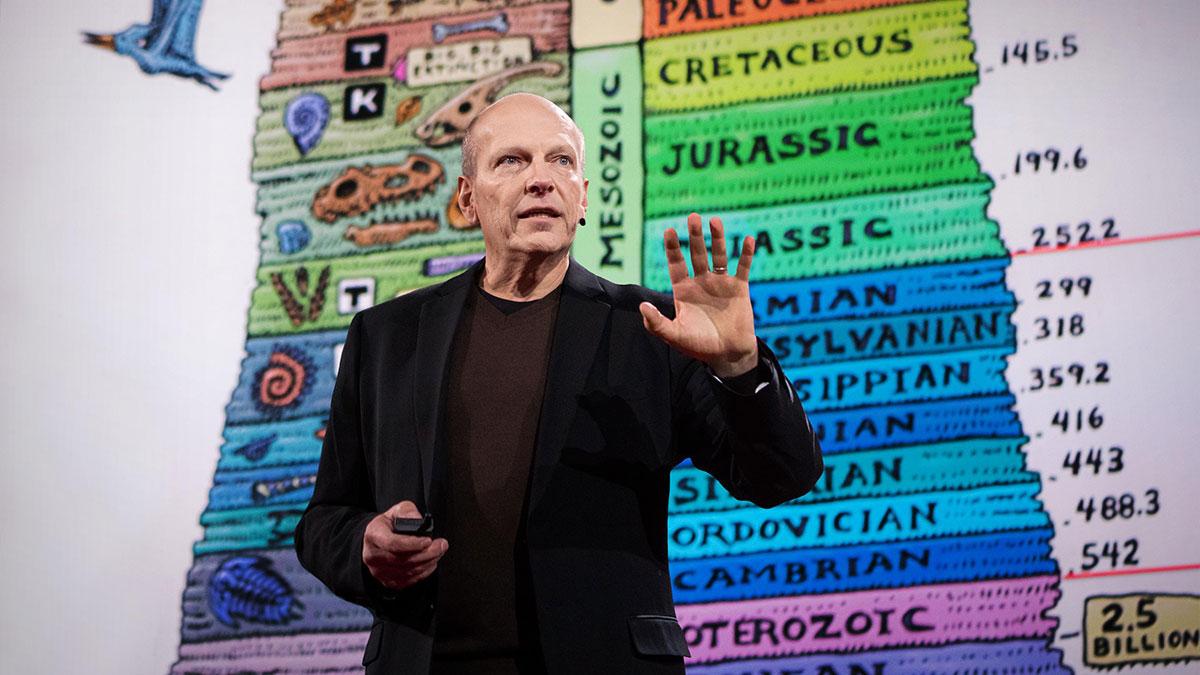 سخنرانی تد : جستجوی دایناسورها جایگاه ما در کائنات را به من نشان داد