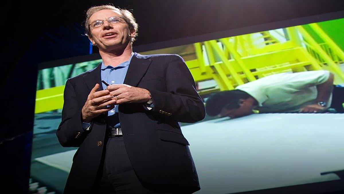 سخنرانی تد : کوین سوریس دیوار کاذب دوستدار محیط زیست می سازد