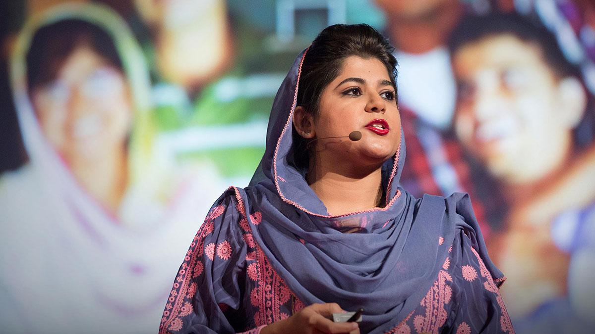 سخنرانی تد : چگونه برای محافظت از زنان علیه کشتار ناموسی حمایت کردم