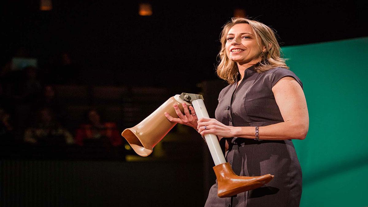 سخنرانی تد : زانوی مصنوعی ۸۰ دلاری که زندگی را تغییر می دهد