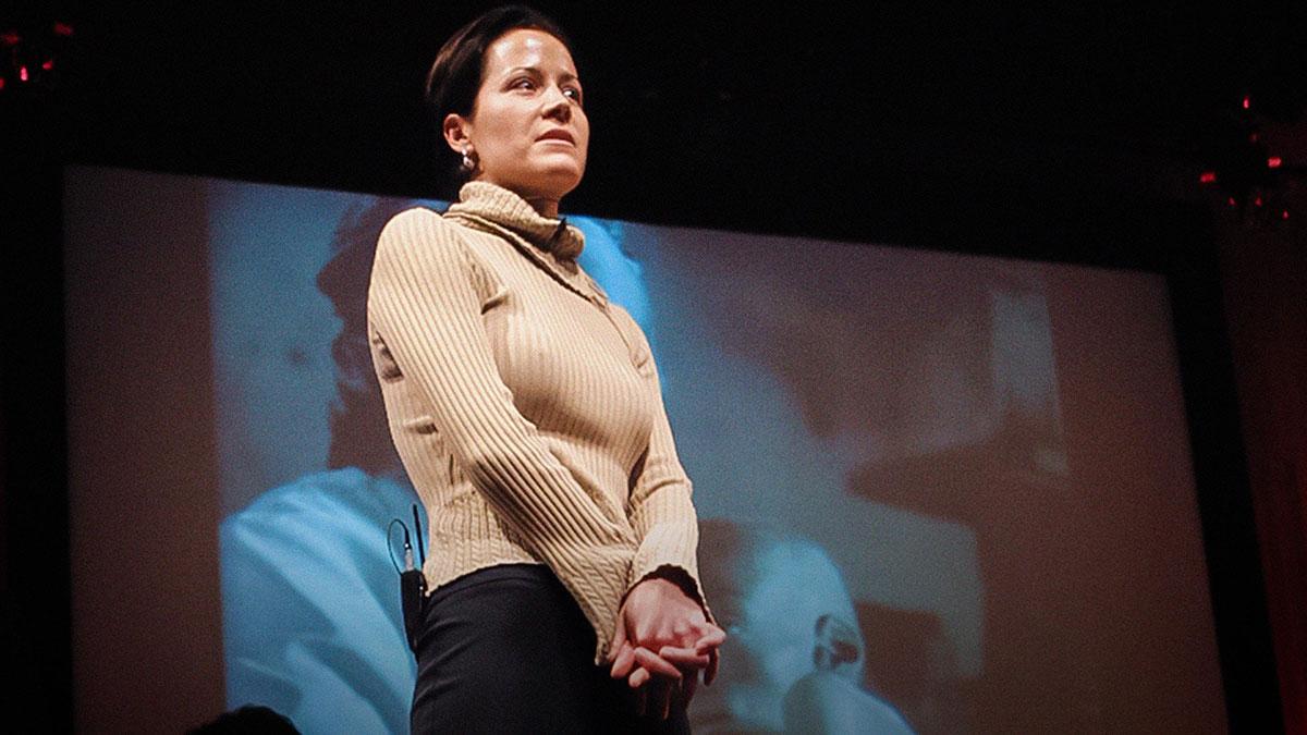 سخنرانی تد : عكسهای جانگداز كريستن اشبورن از ايدز