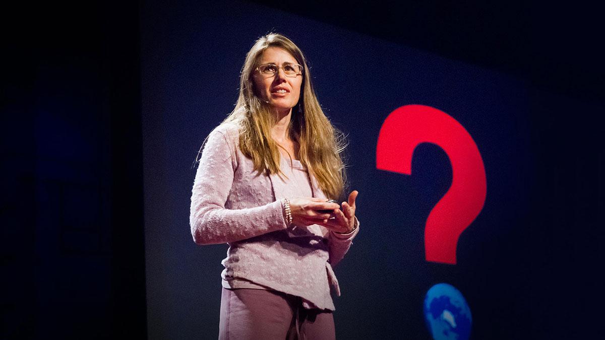 سخنرانی تد : لورا تریس پیشنهاد می کند که همه تشکر کنیم