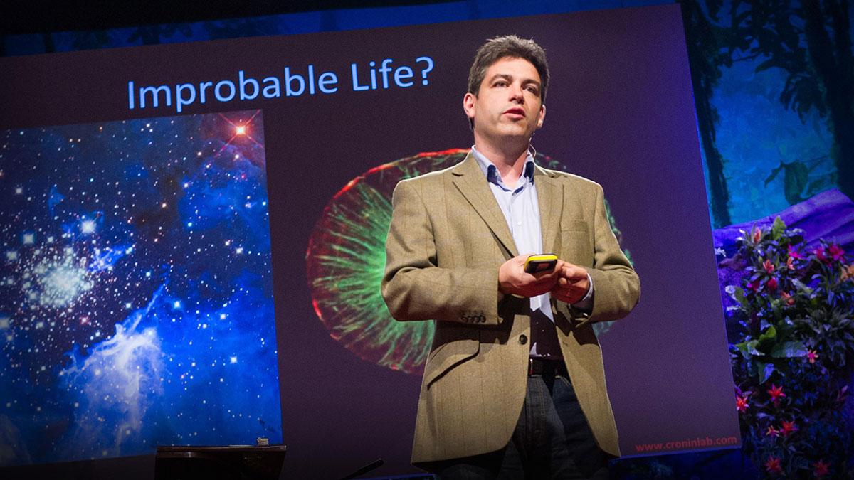 سخنرانی تد : لی کُرُنین: زنده کردن ماده