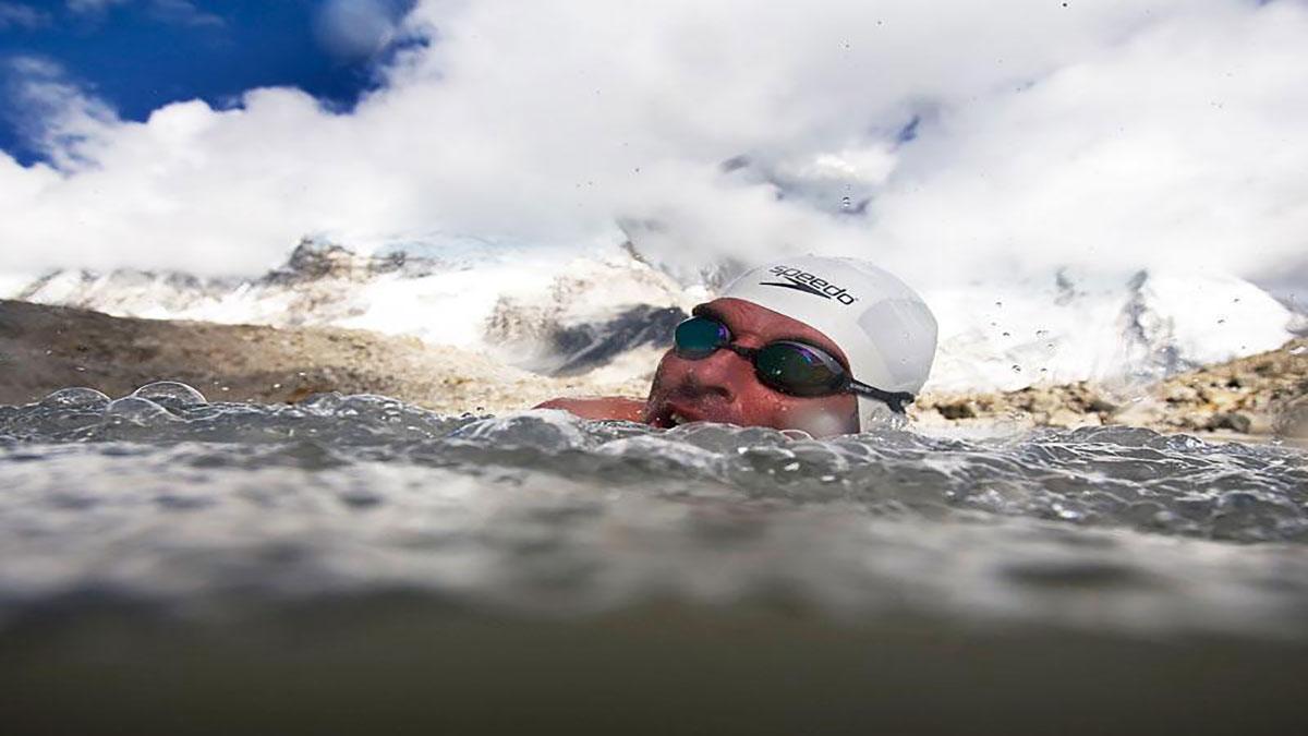 سخنرانی تد : تغییرفکر  لوئیس پاگ برای شنا در کوه اورست