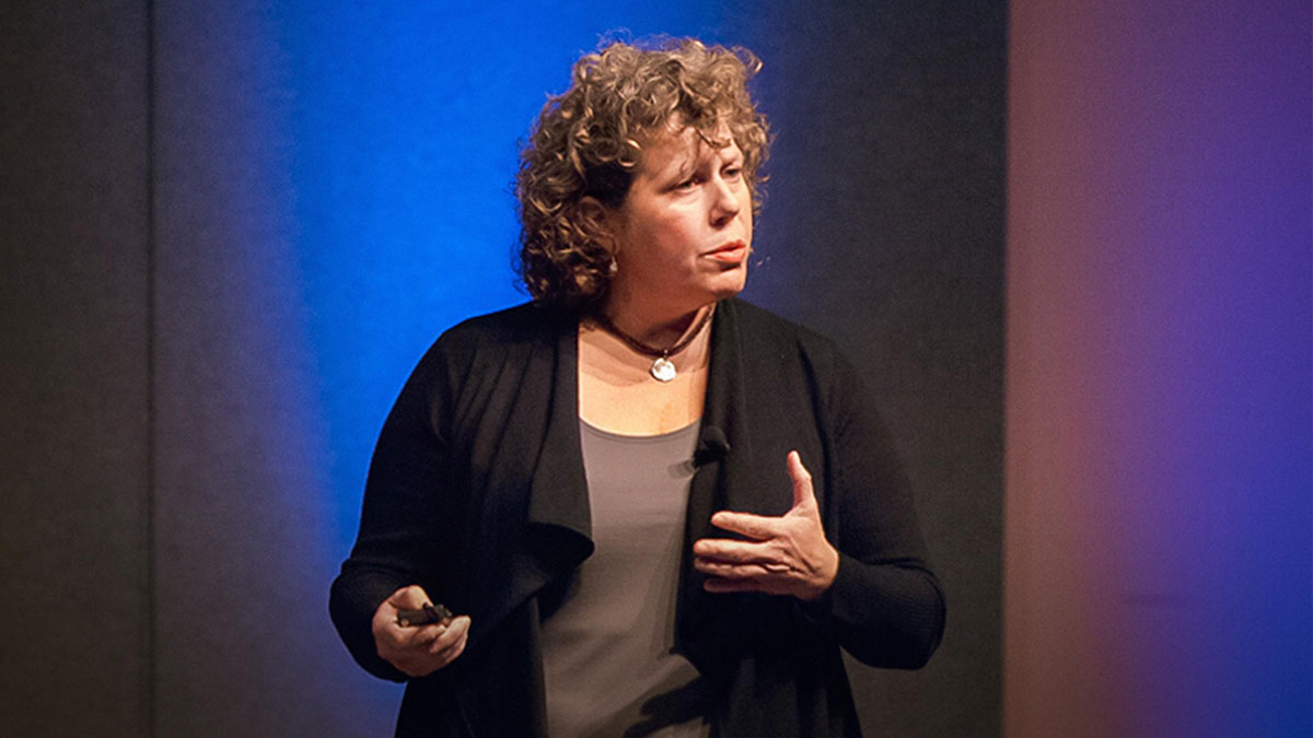 "سخنرانی تد : لیزا گانسکی : آینده کسب و کار ، ""شبکه"" است"