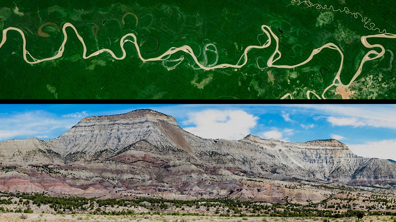 سخنرانی تد : رودها درباره گذشته زمین  به ما چه میگویند.