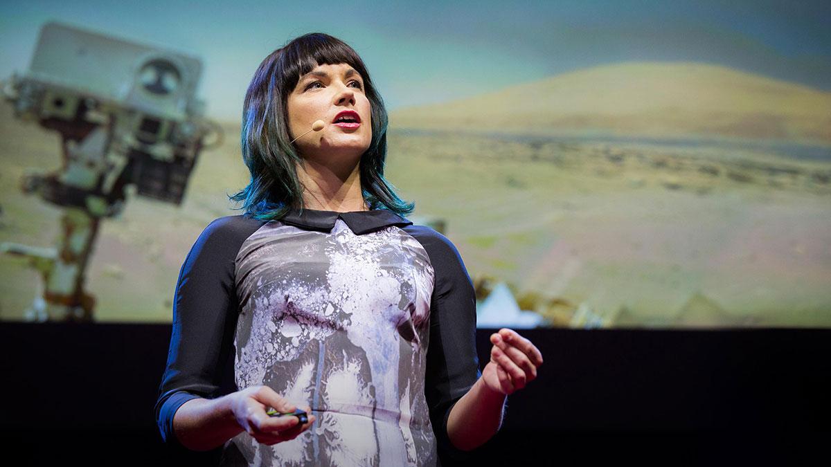 سخنرانی تد : بیایید تا مریخ را به عنوان جایگزین زمین در نظر نگیریم