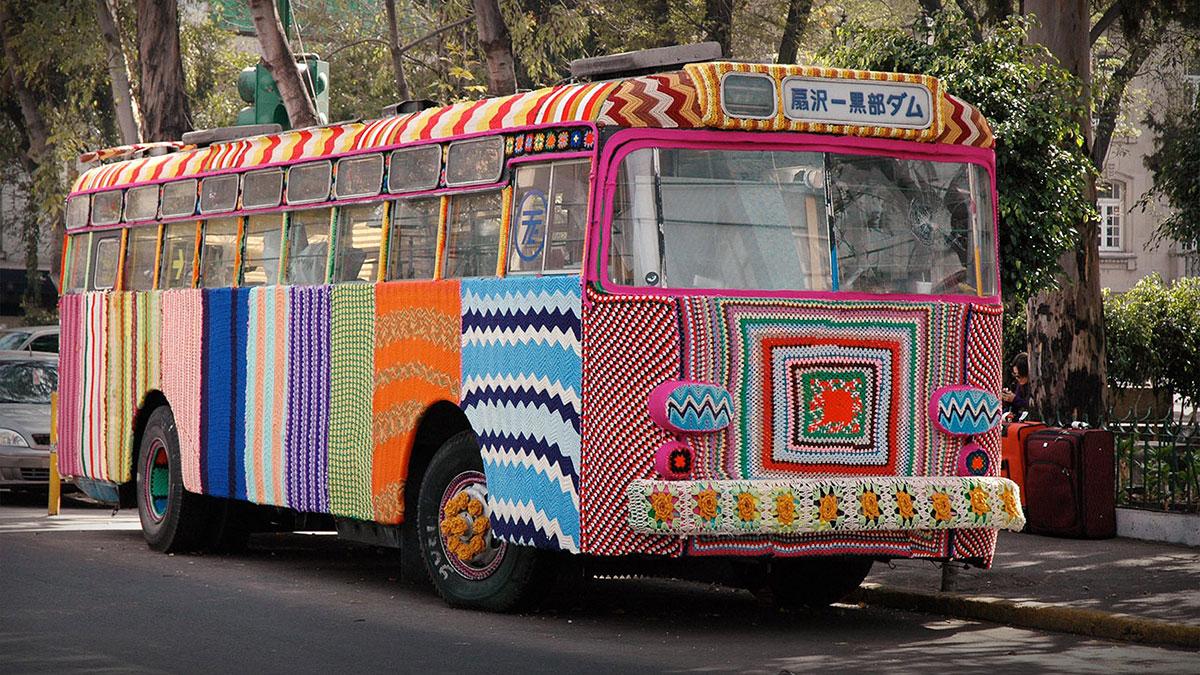 سخنرانی تد : چطور هنر بافندگیِ خیابانی به جنبشی جهانی تبدیل شد