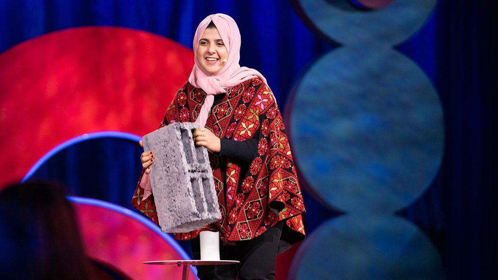 سخنرانی تد : چگونه من در غزه از خاکستر و خرده سنگ بلوک درست کردم