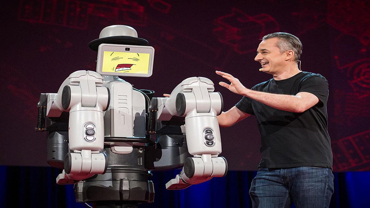 سخنرانی تد : بهترین نمایشی که احتمالا از یک نمونه آزمایشی روبات دیده ایم